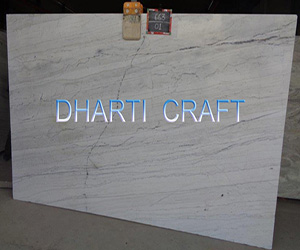 Polar White Marble Slabs India