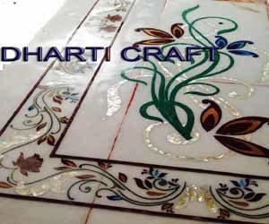 Marble carpet flooring